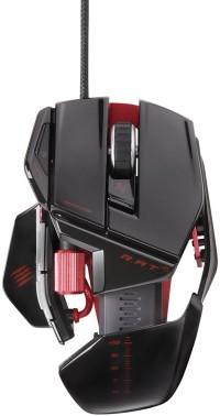 R.A.T. 5 Gaming Mouse, schwarz-glänzend - zum Schließen ins Bild klicken