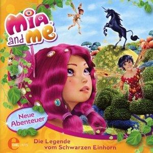 Mia And Me;(4)HSP Buch-Schwarzen Einhorn