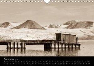 Historic Svalbard / UK version (Wall Calendar 2015 DIN A4 Landsc