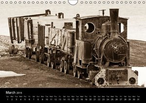 Historic Svalbard / UK version (Wall Calendar 2015 DIN A4 Landsc