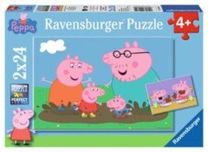 Ravensburger 09082 - Piggi Pig: Glückliches Familienleben, Puzzl