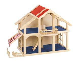 Goki 51893 - Puppenhaus Veranda, 2 Etagen, Holz