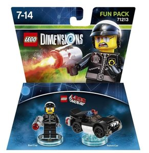 LEGO Dimensions - Fun Pack - LEGO The Movie - Bad Cop (71213)