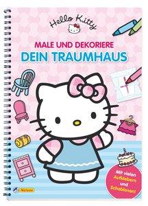 Hello Kitty: Male und dekoriere dein Traumhaus