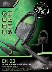 EX-03 Inline Messenger Headset für XBOX360