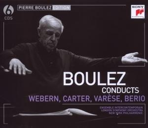 Pierre Boulez Edition: Webern,Varese & Berio