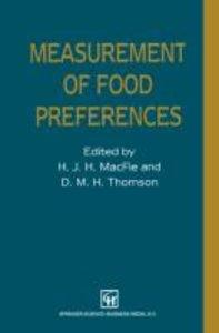Measurement of Food Preferences