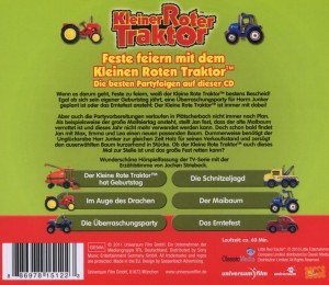 Feste Feiern Mit Dem Kleinen Roten Traktor