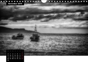 Scotland in Black and White (Wall Calendar 2015 DIN A4 Landscape