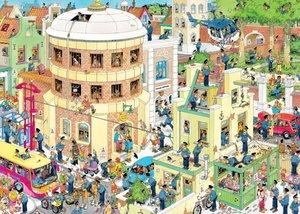 Jan van Haasteren - Die Flucht. Puzzle 1000 Teile