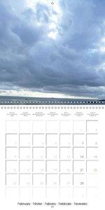 Ciels vus de la Terre (Calendrier mural 2015 300 × 300 mm Square