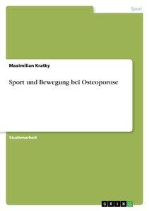 Sport und Bewegung bei Osteoporose