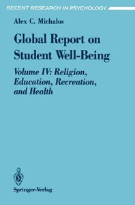 Global Report on Student Well-Being