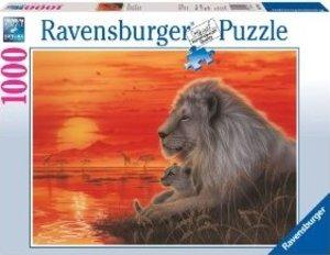 Ravensburger 19210 - Afrikanische Abendstimmung, 1000 Teile Puzz