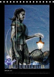 Ronit Tarot - Motive der Großen Arkana / 2016 (Tischkalender 201