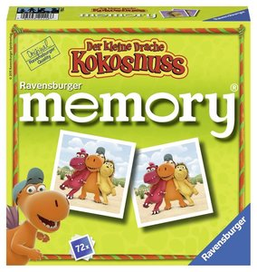 Ravensburger Memory 21116 - Der kleine Drache Kokosnuss memory,