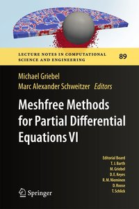Meshfree Methods for Partial Differential Equations VI