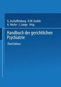 Handbuch der Gerichtlichen Psychiatrie