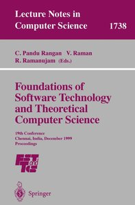 Foundations of Software Technology and Theoretical Computer Scie