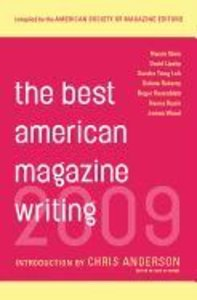 The Best American Magazine Writing 2009
