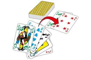 Abacusspiele 8092 - Tichu, Pocket-Box