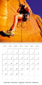 The thrill of climbing: Cliffs and rock faces (Wall Calendar 201