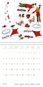 Crafts Calendar Paper Mobiles - between Sun and Earth (Wall Cale