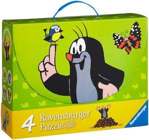 Maulwurf und seine Freunde. Puzzlekoffer