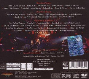 Live At Donington 1990 (2CD+DVD Special Edition Di