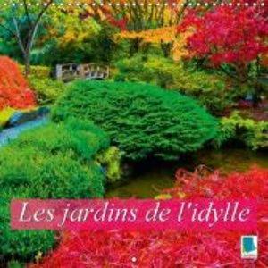 Les jardins de l\'idylle (Calendrier mural 2015 300 × 300 mm Squ