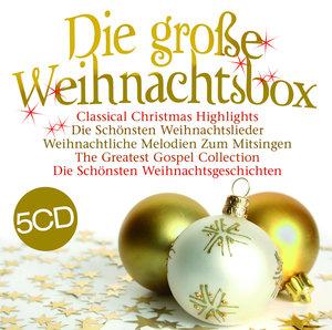Die Große Weihnachtsbox! 5CDs
