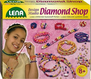 Lena 42328 - Design Studio: Diamond Shop, Kunststoff Perlen