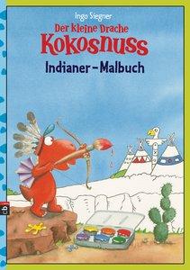 Der kleine Drache Kokosnuss - Indianer-Malbuch