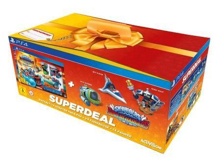 Skylanders SuperChargers - Starter Pack - Superbundle - zum Schließen ins Bild klicken