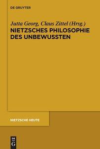 Nietzsches Philosophie des Unbewussten