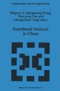 Functional Analysis in China