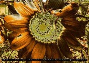 Floral Colour Play (Wall Calendar 2015 DIN A3 Landscape)