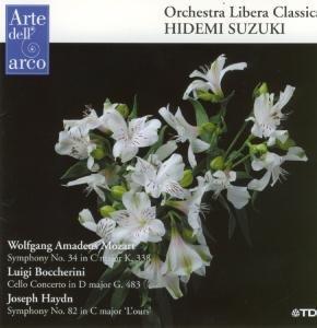 Sinfonie 34/Cello Concerto G 483/Sinfonie 82