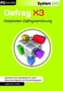 System Go! - Disk Defrag X3. Für Windows XP (32-Bit)/Vista/Windo