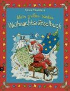 Mein großes buntes Weihnachtsrätselbuch