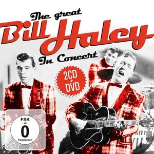 The Great Bill Haley In Concert.2CD+DVD