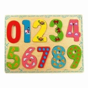 Bino 88109 - Puzzle mit Zahlen