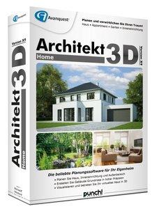 Architekt 3D X9 Home. Für Windows Vista/7/8/10