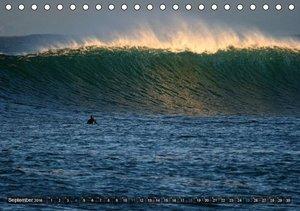 Faszination Surfen (Tischkalender 2016 DIN A5 quer)
