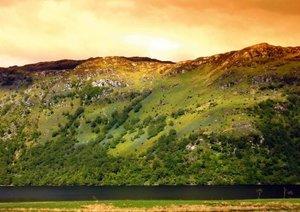Scotland - Highlands (Posterbuch DIN A2 quer)