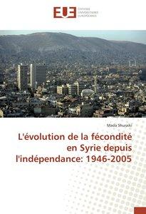 L\'évolution de la fécondité en Syrie depuis l\'indépendance: 19