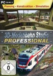 3D Modellbahnstudio Professional (Planung-Konstruktion-Simulatio