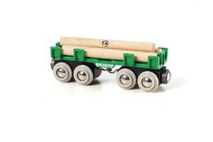 Brio 33696 - Langholzwagen, Güterwagen