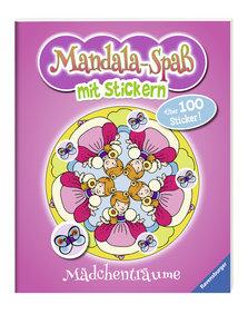 Mandala-Spaß mit Stickern: Mädchenträume