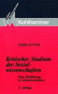 Kritisches Studium der Sozialwissenschaften